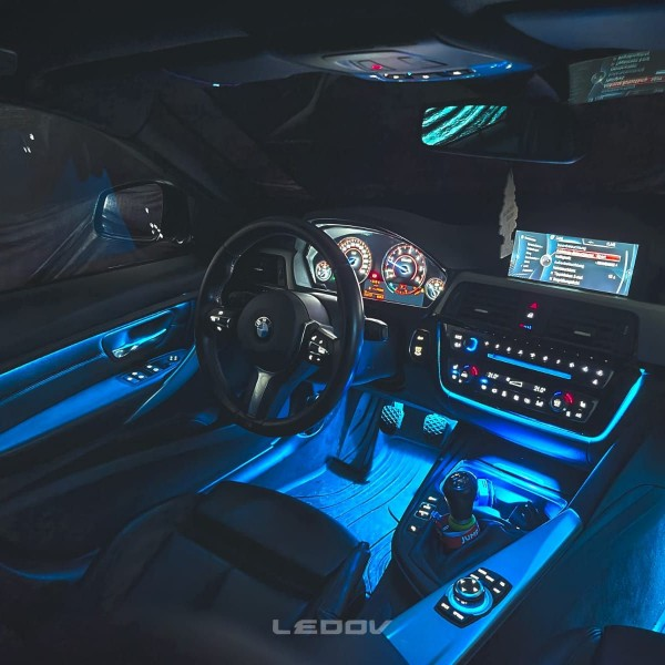 BMW 3er F-Reihe LED Ambientebeleuchtung inkl. Einbau