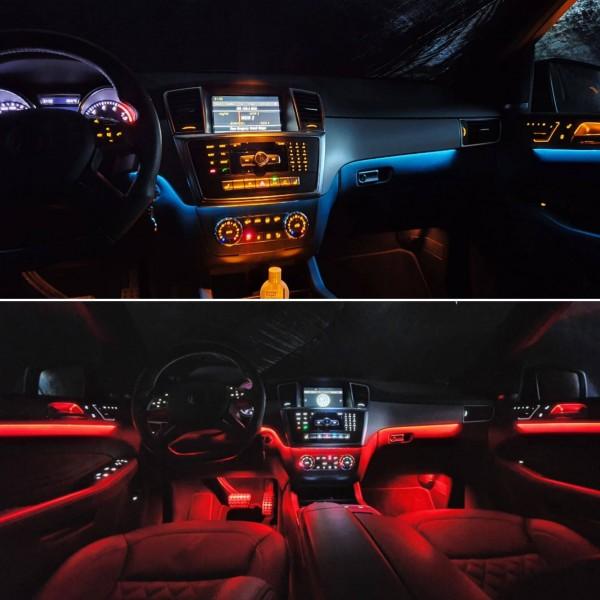 Mercedes GLS LED Ambientebeleuchtung inkl. Einbau