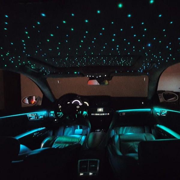 Mercedes CLS W218 LED Sternenhimmel inkl. Einbau