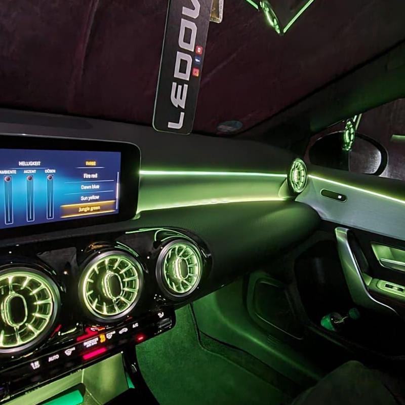 LED-Ambientebeleuchtung-Mercedes-A-Klasse