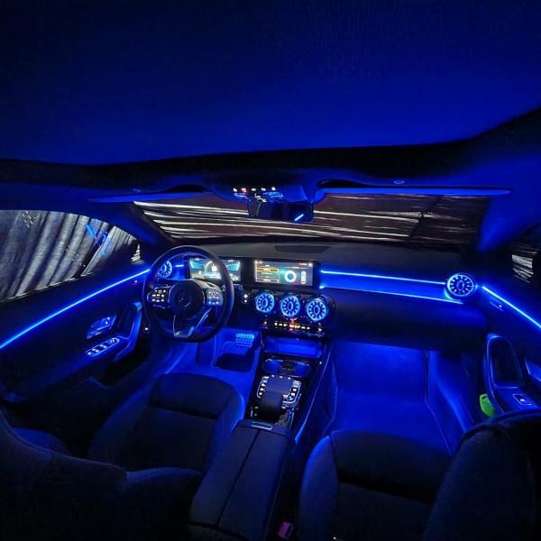 Mercedes CLA W118 LED Ambientebeleuchtung inkl. Einbau