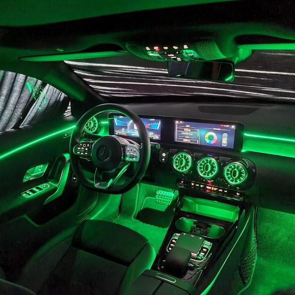 Mercedes A-Klasse W177 LED Ambientebeleuchtung inkl. Einbau