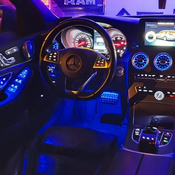 Mercedes E-Klasse W213 LED Ambientebeleuchtung inkl. Einbau