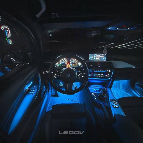BMW 4er F-Reihe LED Ambientebeleuchtung inkl. Einbau
