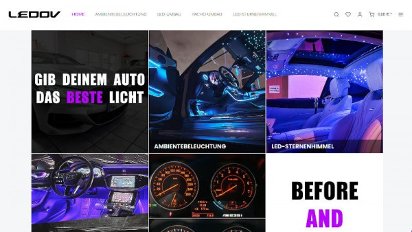 LEDOV-Neuer-Onlineshop