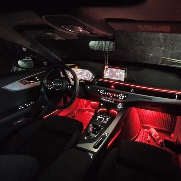 Audi A5 B9 LED Ambientebeleuchtung inkl. Einbau