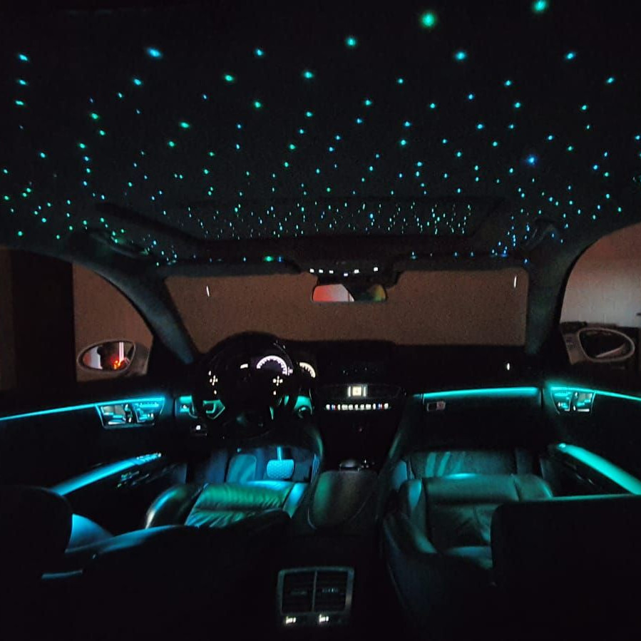 Mercedes CLS W20 LED Sternenhimmel inkl. Einbau   STERNENHIMMEL ...